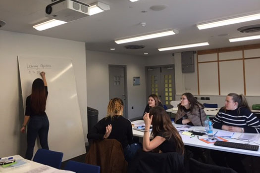 Queen Mary Legal Advice Centre students delivering a street law session