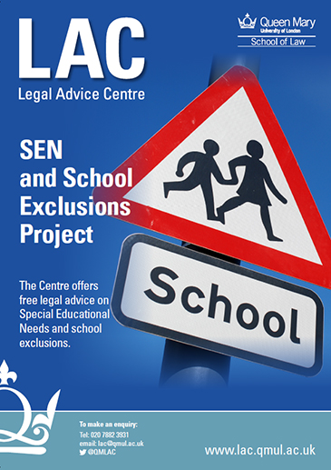 SEN and School Exclusions Project poster