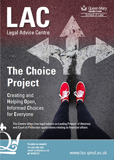 Choice project poster