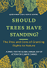 Event flyer for LAC event: Should Trees Have Standing, with a banner of leaves in autumn colours