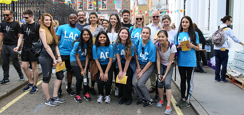LAC and qLegal at Free Legal Advice charity walk